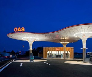 Slovakian Gas Station by Atelier SAD