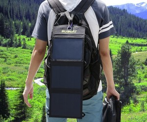 AUKEY Portable Solar Charger for Smartphones