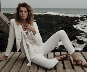 Daria Werbowy for Mango SS14 Ad Campaign
