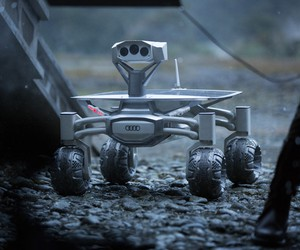 Audi Lunar Quattro Rover Features in Alien Movie