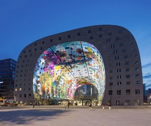The Markthal Rotterdam by MVRDV opens its door