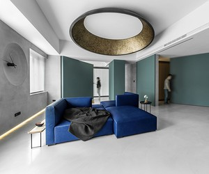 Taipei Apartment With Movable Walls, Wei Yi Design