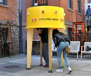 STEREOTANK: Little Free Library in New York