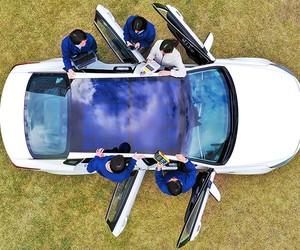 Hyundai and Kia Reveal Solar Charging Technology