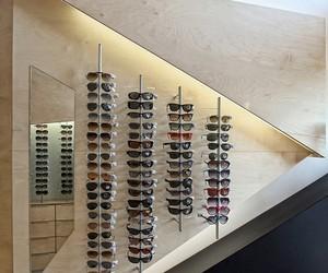A Triangular Optics Shop, Athens
