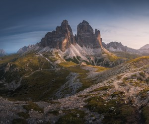 Breath of the Dolomites by Michael Shainblum