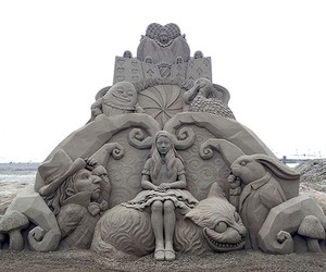 Amazing Sand Sculptures by Toshihiko Hosaka