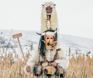 Join Bulgaria's Masked Kukeri Dancers