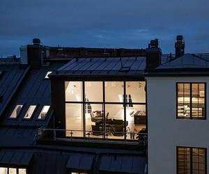 Stylish Attic Penthouse in Stockholm