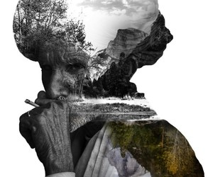 Awesome Double Exposure Portraits by Nevess
