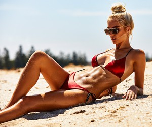 Beachin' with Model Stephanie Philip in Melbourne