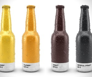 Pantone Beer Packaging