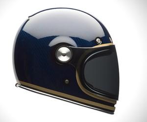Bell Bullitt Blue Carbon Fiber Helmet