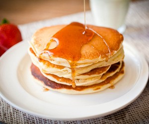 Buttermilk Pancakes + a step-by-step video