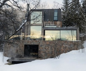 Rustic Aspen Colorado Home