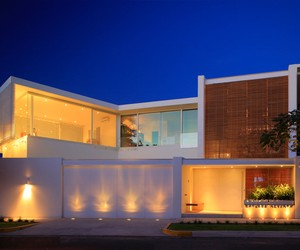 Casa Lucke Orozco by Hernandez Silva Arquitectos