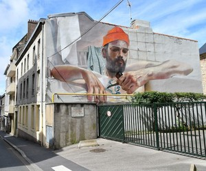 Sailor-Mural by Artist Case Maclaim in France
