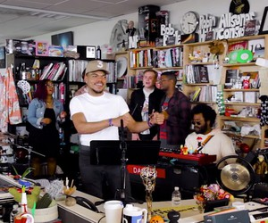 Chance The Rapper performs at NPRs Tiny Desk Conce