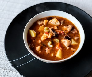 Chunky Pork and Vegetable Soup
