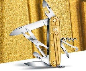 Victorinox Climber Gold Pocket Tool