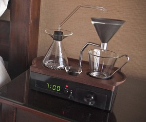 Coffee Making Alarm Clock