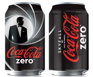 LIMITED EDITION 'JAMES BOND' SERIES BY COCA-COLA
