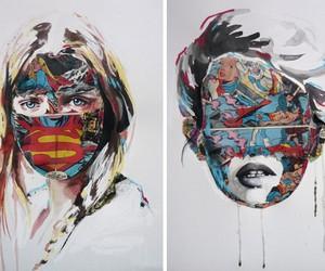 Comic Collage Portraits