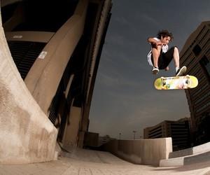 Skateboarding in Dubai