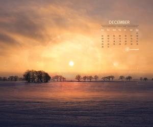 Cromoart Desktop Calendar – December 2013