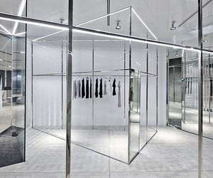 Akin Creative Designs Dion Lee's Melbourne Shop
