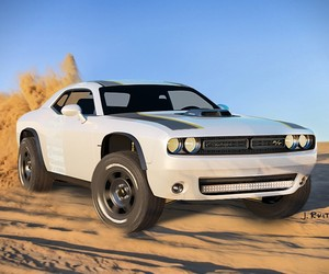 Off-Road Dodge Challenger