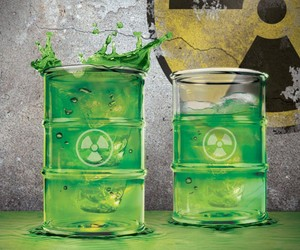 Toxic Waste Glass