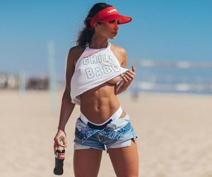 """Coke & a ________"" feat. Model Haley Jade Posten"