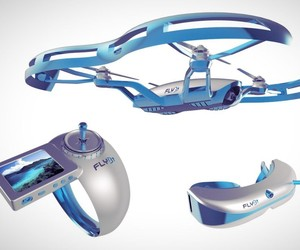 FLYBi Drone with VR Goggles is Insanely Awesome