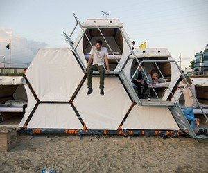 Honeycomb Tents for Music Festivals