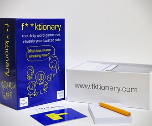 F**ktionary Card Game