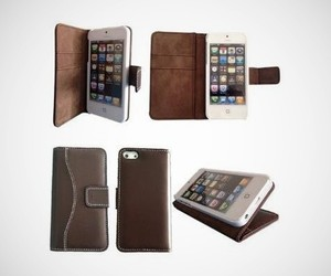 Lambskin Leather Case for iPhone 5