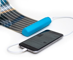 HeLi-on – Compact Solar Charger for Smartphones