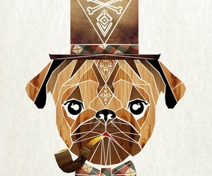 Hipster Animals – Geometric Illustrations by Manoo