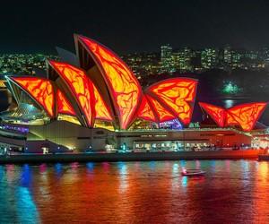 Photos From Vivid, Sydney's Festival of Light
