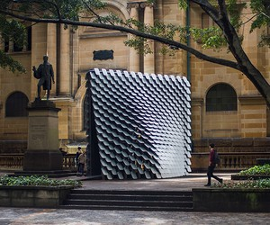 80Hz Interactive Sound Pavilion, Thomas Wing-Evans