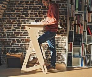 JASWIG StandUp – Adjustable Standing Desk Made of