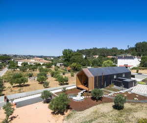 An individual house based on modular principle