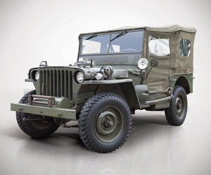 WWII Jeep Collection Hits Auction