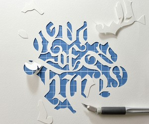 The alphabet of paper