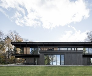 Alain Carle Architectes Build Le Phénix House