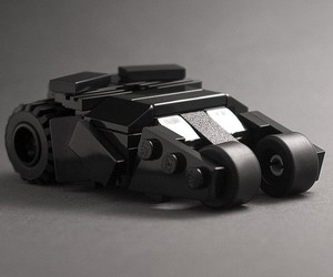 The Dark Knight LEGO Tumbler