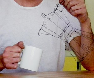 Mickael Delalande and its everyday objects made of