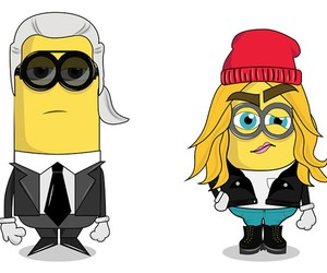 The Minionistas - Karl, Cara and the rest of the f