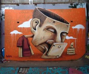 """""""Lobotimy"""" by French Street Artist Mika"""